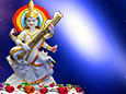 Devi Saraswati  wallpaper