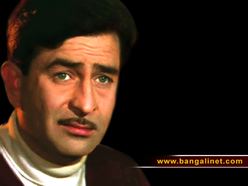 Wallpaper - Old Hindi Film Star (800*600) - Raj Kapoor